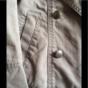 GAP Jackets & Coats - GAP Double Breast Military Grey Structure Jacket